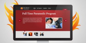 Fire Hawk Academy website design